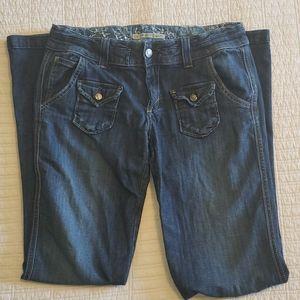 Anoname Ava-ri Flare Jeans